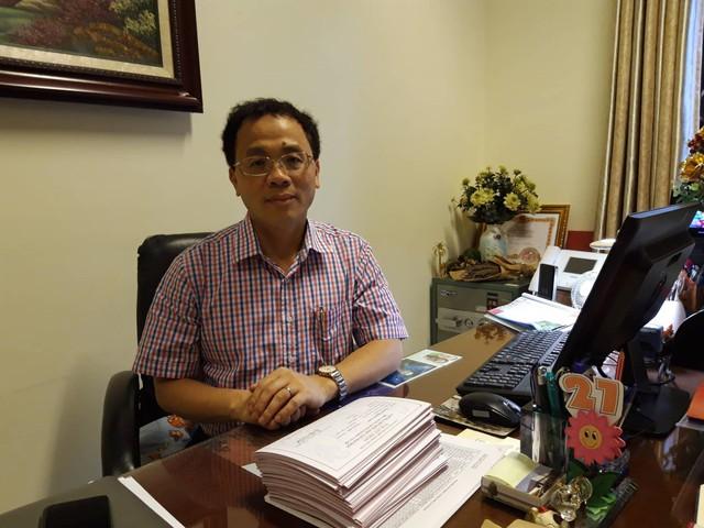 GS.TS.BS Tạ Thành Văn – Tân Hiệu trưởng trường ĐH Y Hà Nội. Ảnh: Q.Anh