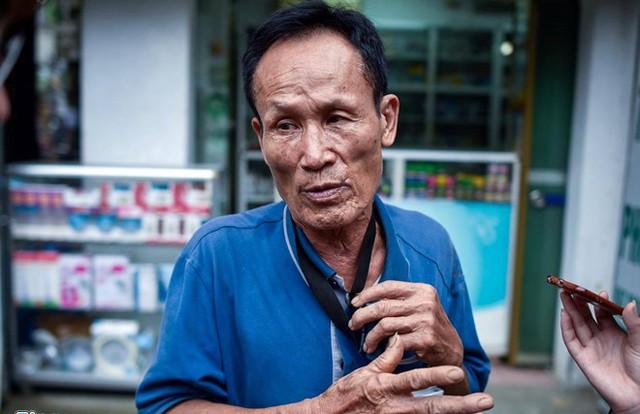 Ông Nguyễn Thế Hiệp là chủ dãy nhà trọ cạnh Bệnh viện Nhi Trung ương - nơi phát hiện 2 thi thể bị cháy đen. Ảnh: Zing
