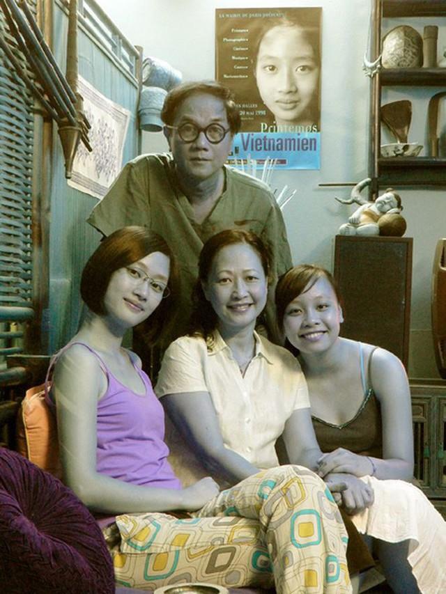 Gia đình hạnh phúc của NSND Như Quỳnh và Nguyễn Hữu Bảo.