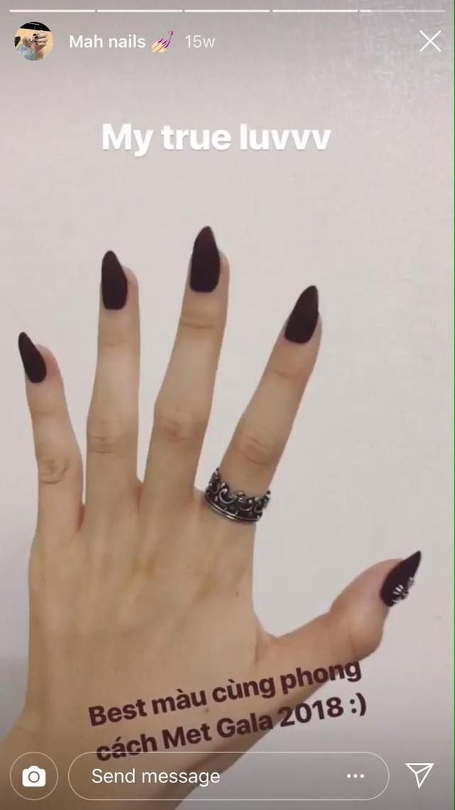 Phương Nga đeo chiếc nhẫn giống hệt với cô gái trong ảnh Bình An đăng lên instagram cá nhân