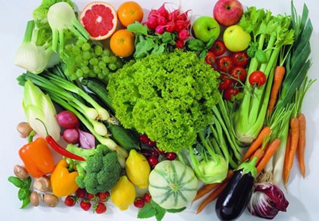 Mùa đông cần ăn nhiều rau củ quả. Ảnh: T.L