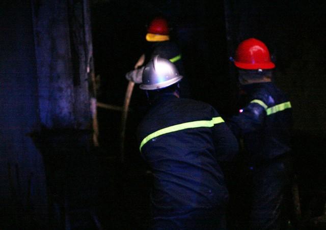 Theo ghi nhận ban đầu, đám cháy không gây thiệt hại về người.