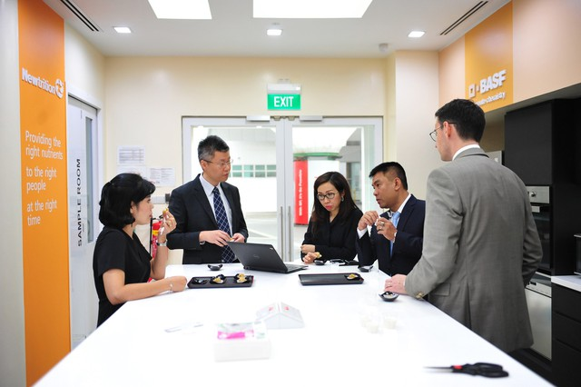 Đoàn công ty NutiFood thăm văn phòng BASF Khu vực Đông Nam Á