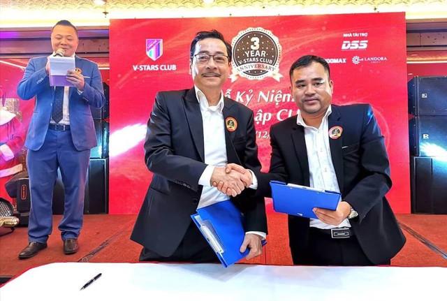 CLB V -Stars và Công ty Cổ phần Công nghệ DSS đã chính thức ký hợp đồng là đơn vị đồng hành năm 2019