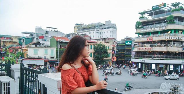Du học sinh Trần Thị Thu Hà. Ảnh: Facebook nhân vật
