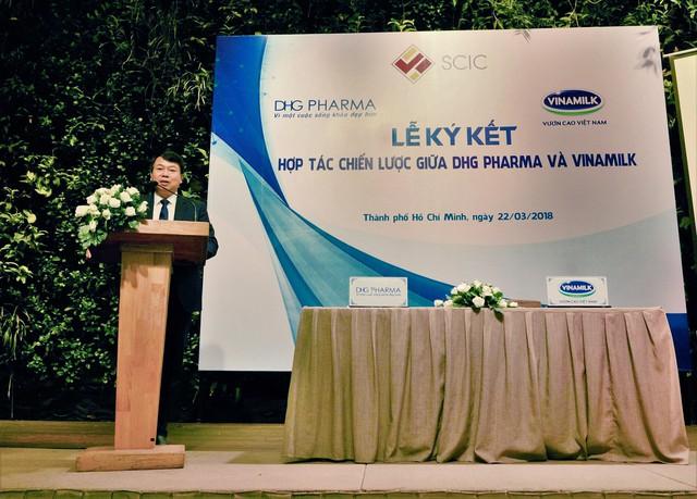Ông Nguyễn Đức Chi – Chủ tịch Hội đồng thành viên SCIC phát biểu tại buổi Lễ ký kết.