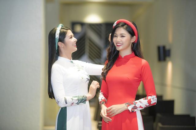 Hoa hậu Ngọc Hân và Á hậu Thanh Tú