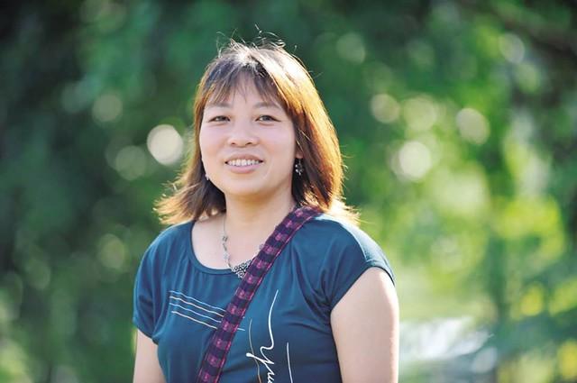 """Nhà văn Tống Ngọc Hân – tác giả truyện ngắn """"Núi vỡ"""" bị """"đạo"""" thành… thơ. Ảnh: TL"""