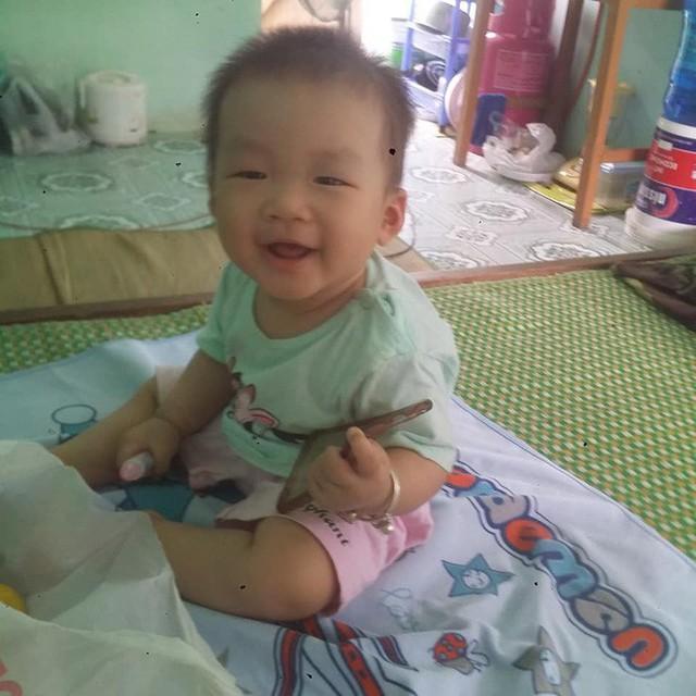 Con gái Yến được 8 tháng và vợ chồng cô vẫn đang phải thuê nhà để ở.
