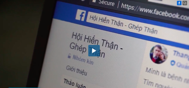 Một tờ báo điện tử phản ánh việc cò buôn thận tung hoành ở bệnh viện Sài Gòn. Ảnh: Cắt từ clip