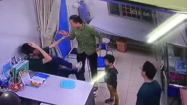 Đối tượng Trương Văn Thanh bị CQĐT - CA quận Ba Đình, Hà Nội khởi tố để điều tra hành vi gây rối trật tự công cộng. Ảnh: Tư liệu