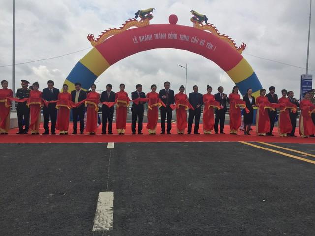 Cầu Vũ Yên I đưa vào sử dụng đã góp phần hoàn chỉnh hạ tầng giao thông thành phố Hải Phòng