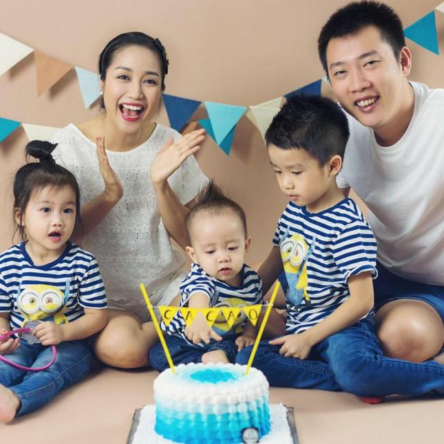 Gia đình hạnh phúc hiện tại của Ốc Thanh Vân