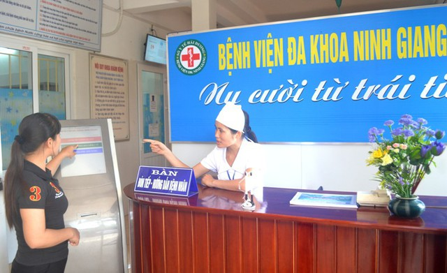 Trong quá trình được chồng đưa xuống Bệnh viện Đa khoa huyện Ninh Giang khám thai, chị S. đã bỏ đi đâu không rõ. Ảnh: Đ.Tùy