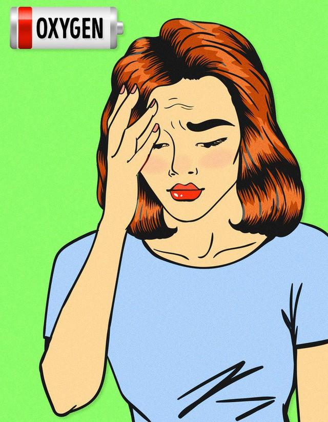 Những người bị thiếu sắt có thể bị chóng mặt và chóng mặt.