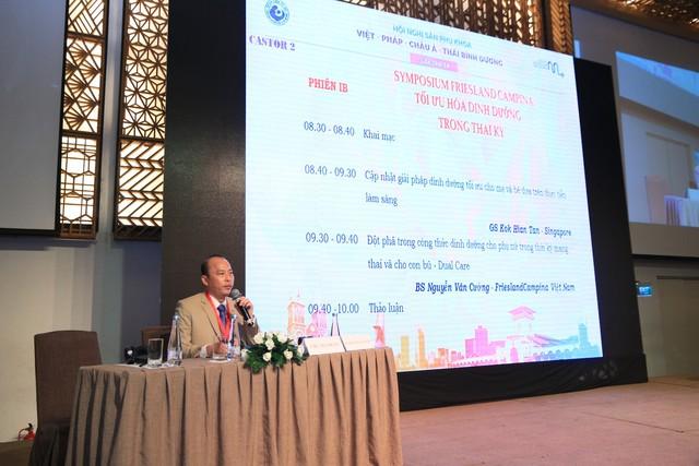 Ths Bs Lê Quang Thanh phát biểu khai mạc hội nghị.