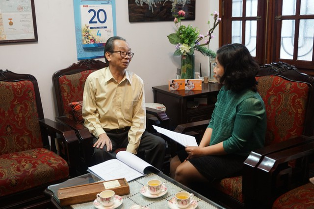 GS.TS. Nguyễn Đức Vy - Nguyên Giám đốc Bệnh viện Phụ sản TW – người mang hạnh phúc trong tiếng cười trẻ thơ đến cho nhiều gia đình tại Việt Nam.
