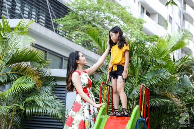 Vợ chồng Thùy Dương sống trong khu đô thị cao cấp.