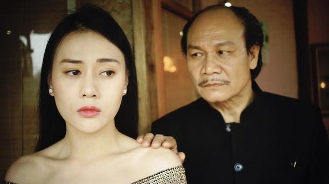 Diễn viên Phương Oanh trong vai Quỳnh (ảnh VTV cung cấp).