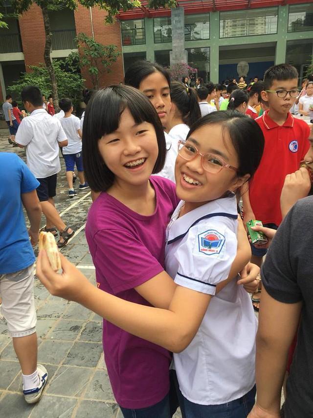 Tình bạn đẹp giữa kì thi gay cấn