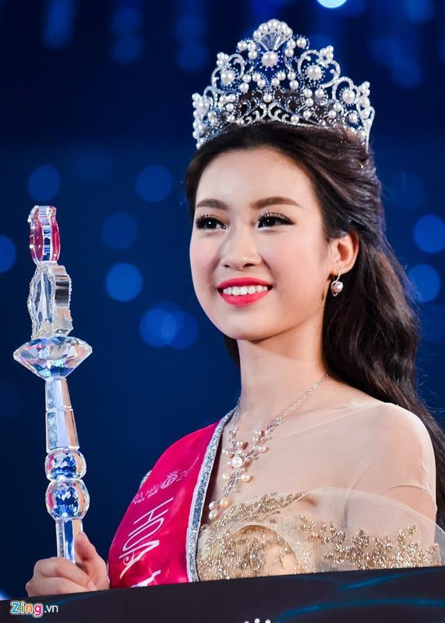 Đỗ Mỹ Linh đăng quang Hoa hậu Việt Nam 2016 và sẽ đảm nhận vai trò giám khảo khi còn đương nhiệm.