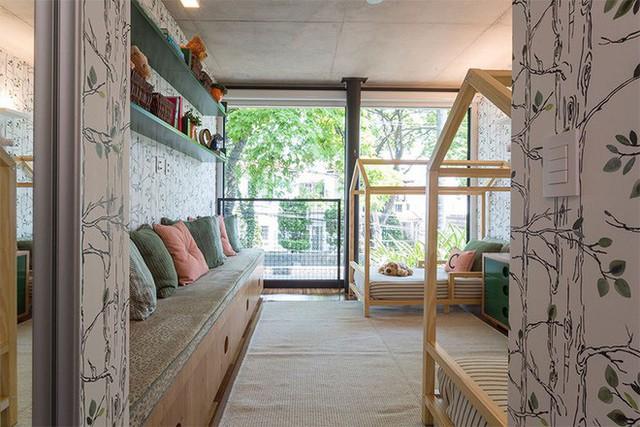 Đây thực sự là phòng ngủ mơ ước của nhiều đứa trẻ.