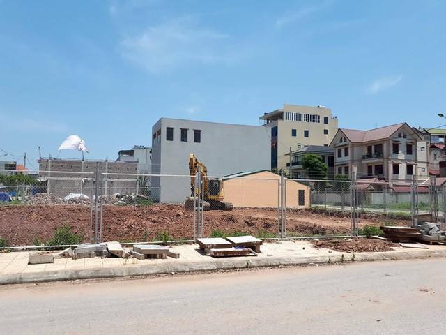 Một góc dự án xây dựng khu dân cư đồi Yên Ngựa (phường Quang Trung, TP Thái Nguyên). Ảnh: X.Thắng