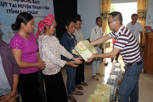 Những phần quà thiết thực đã được Tập đoàn Tân Hiệp Phát kịp thời trao đế tay bà con Hà Giang, Lai Châu