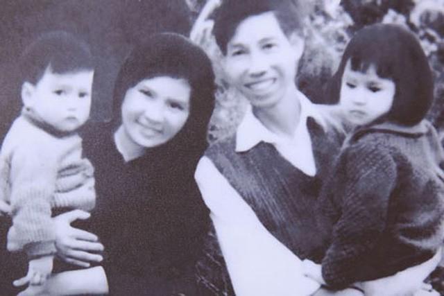 Diva Thanh Lam thời bé (em bé ngoài cùng, bên phải)