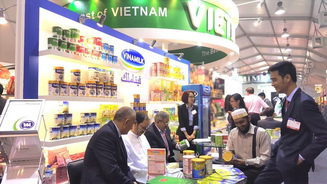Vinamilk tham dự hội chợ Gulfood 2016 được tổ chức tại Trung tâm Thương mại Thế giới Dubai.