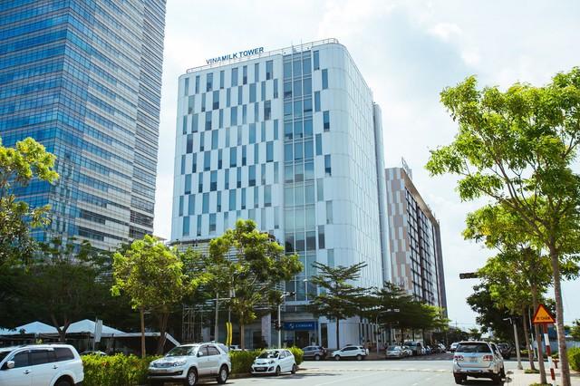 Trụ sở chính công ty Cổ phần Sữa Việt Nam (Vinamilk).