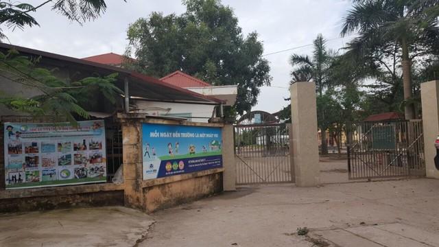 Trường tiểu học Lê Văn Tám, TP. Thái Nguyên, tỉnh Thái Nguyên. (ảnh: TG)