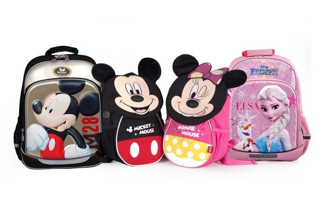 Bộ sưu tập balo Disney của nhãn hàng dụng cụ học tập Điểm 10, Thiên Long