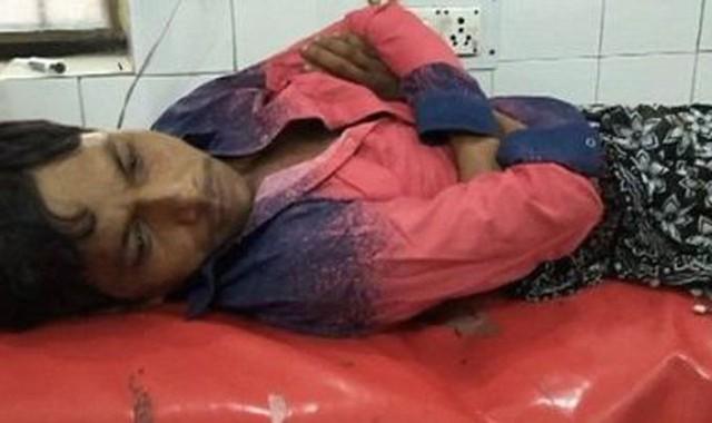 Yunus Ahmed hiện phục hồi trong bệnh viện sau khi bị vợ tấn công bất ngờ lúc đang ngủ hôm 1/8. Ảnh: Mydrim Jones.