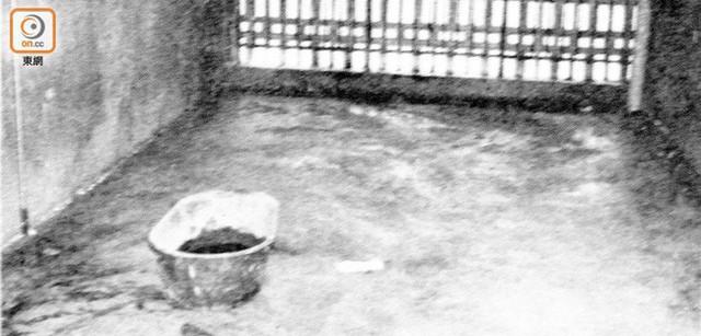 Tại hiện trường, A Trân được phát hiện trong tình trạng quỳ gối, cằm đầu vào chậu nước.