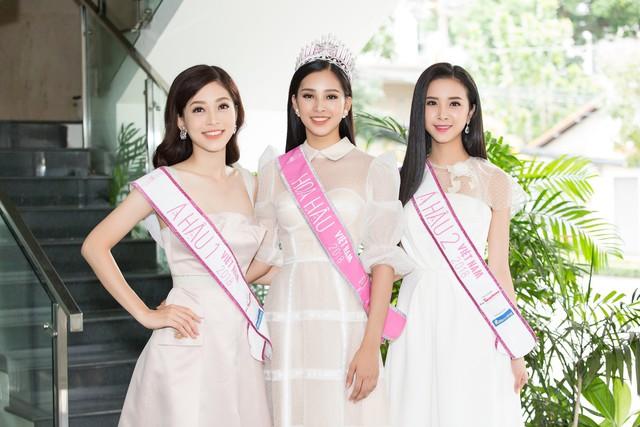 Ba người đẹp đoạt ngôi vị cao nhất cuộc thi Hoa hậu Việt nam 2018