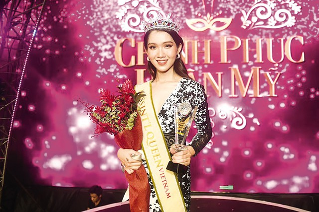 Nhật Hà cũng sẽ là người kế vị Hương Giang tham gia Hoa hậu Chuyển giới Quốc tế 2019 tại Thái Lan vào tháng 3.
