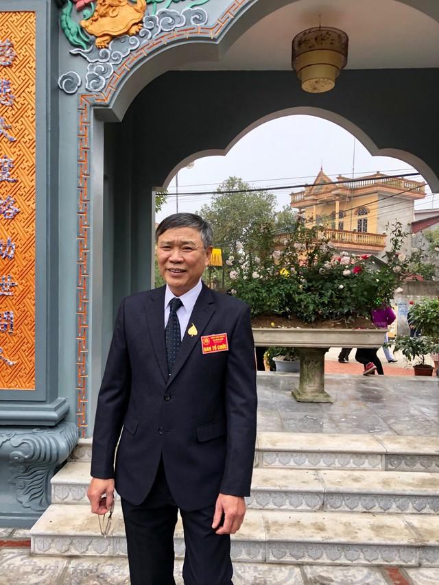 Ông Triệu Duy Hiền- Chủ tịch xã Hùng Sơn