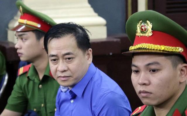Phan Văn Anh Vũ trong một phiên toà năm 2018 (ảnh tư liệu)