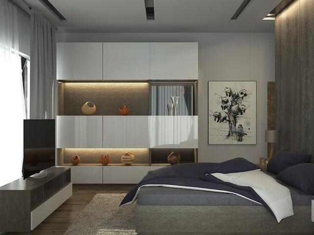 Phòng ngủ dành cho khách.