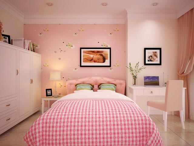 Phòng ngủ dành cho cô công chúa nhỏ.