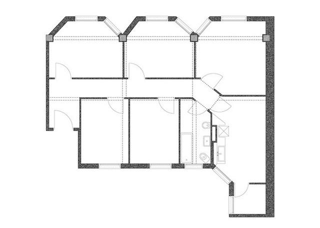 Bản vẽ sơ đồ thiết kế của ngôi nhà đặc biệt này.