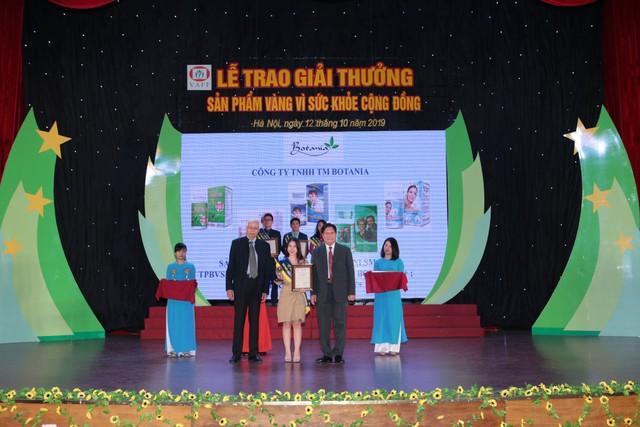 """BoniHappy lần thứ 3 nhận giải thưởng """"Sản phẩm vàng vì sức khỏe cộng đồng"""" - Ảnh 1."""