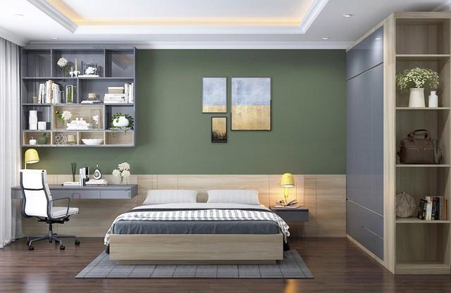Phòng ngủ màu xanh sẽ mang đến nguồn năng lượng tích cực cho cuộc sống của bạn - Ảnh 2.