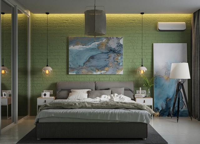 Phòng ngủ màu xanh sẽ mang đến nguồn năng lượng tích cực cho cuộc sống của bạn - Ảnh 4.