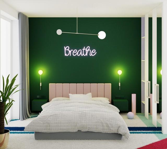 Phòng ngủ màu xanh sẽ mang đến nguồn năng lượng tích cực cho cuộc sống của bạn - Ảnh 7.