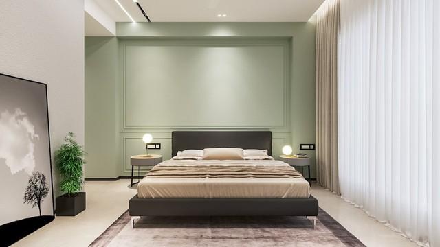 Phòng ngủ màu xanh sẽ mang đến nguồn năng lượng tích cực cho cuộc sống của bạn - Ảnh 8.