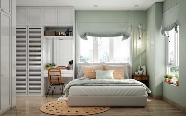 Phòng ngủ màu xanh sẽ mang đến nguồn năng lượng tích cực cho cuộc sống của bạn - Ảnh 9.