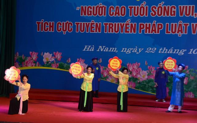Hà Nam tổ chức Hội thi người cao tuổi sống vui sống khỏe, tích cực tuyên truyền về chính sách dân số - Ảnh 6.