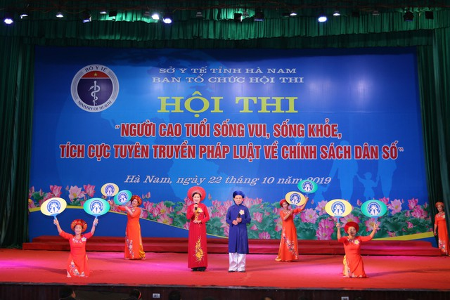 Hà Nam tổ chức Hội thi người cao tuổi sống vui sống khỏe, tích cực tuyên truyền về chính sách dân số - Ảnh 1.
